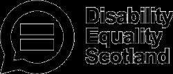 Disability Equality Scotland logo