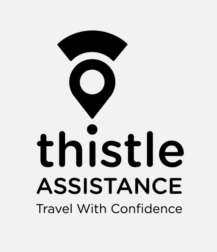 Thistle Assistance logo black